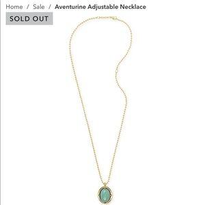 Aventurine Adjustable Necklace-Alex and Ani